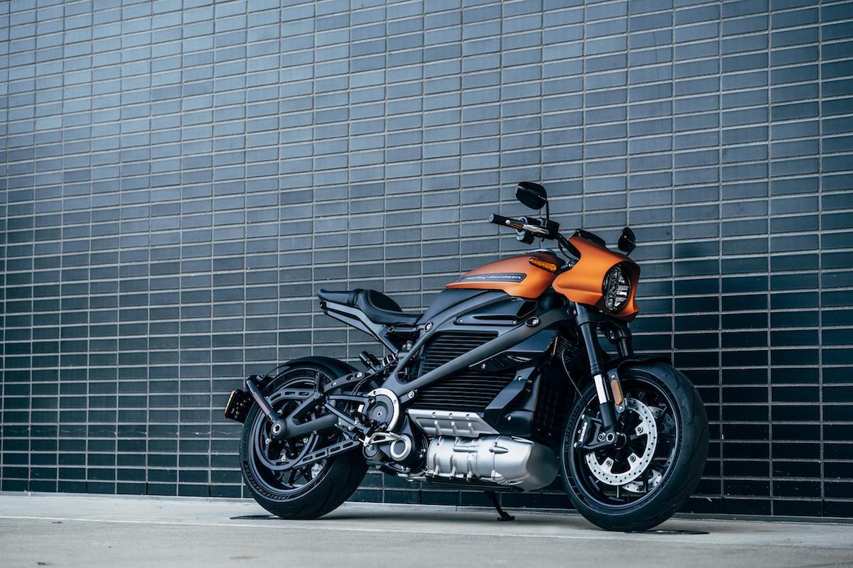 Harley Davidson electrique LiveWire