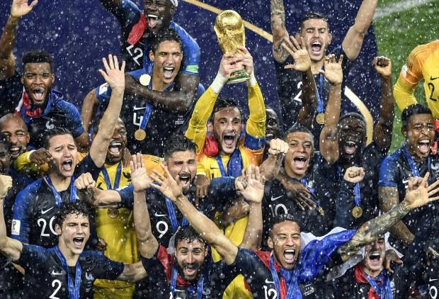 Equipe de France championne