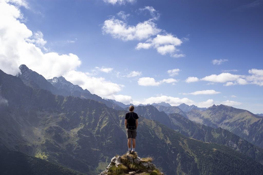 Fast hiking randonnée rapide