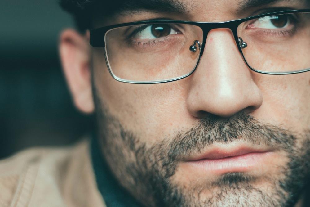 Mode homme les lunettes