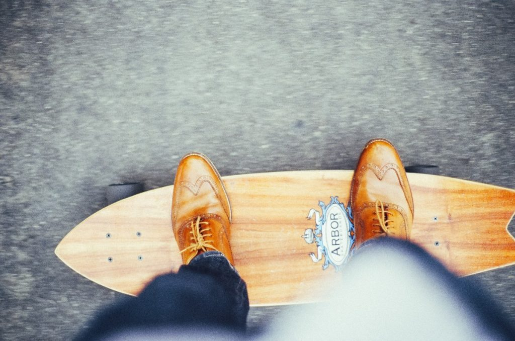 Skateboard pour citadin tendance